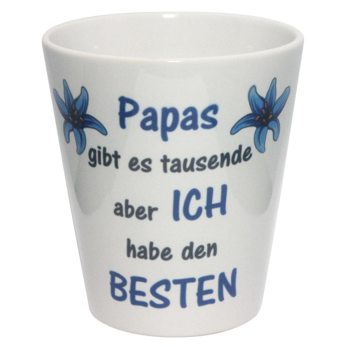 "Blumentopf ""bester Papa"" zum Vatertag"
