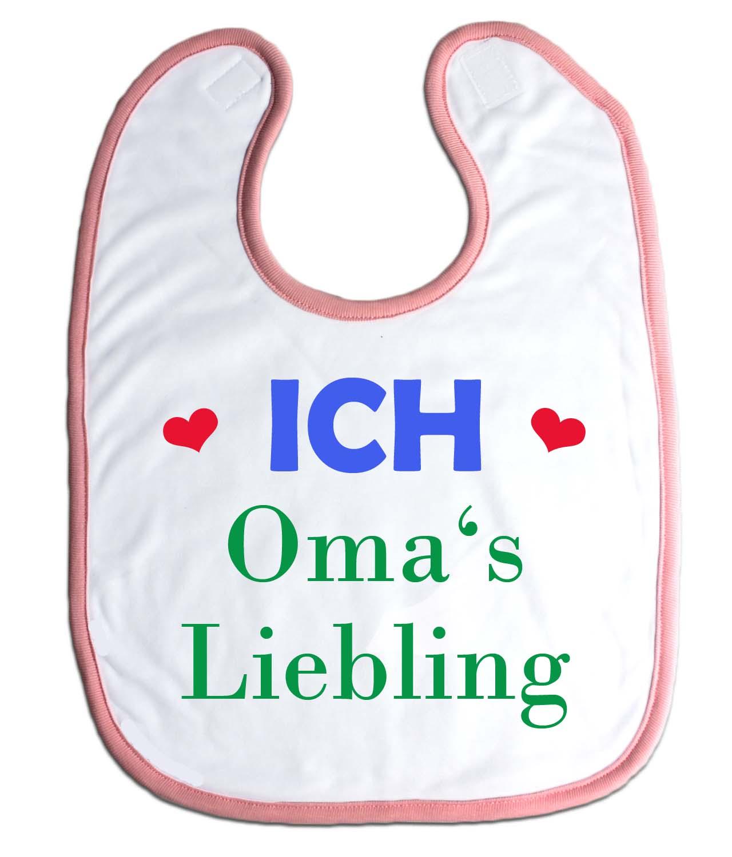"""Lätzchen """"Omas Liebling"""" für Babys Jungs Mädchen"""