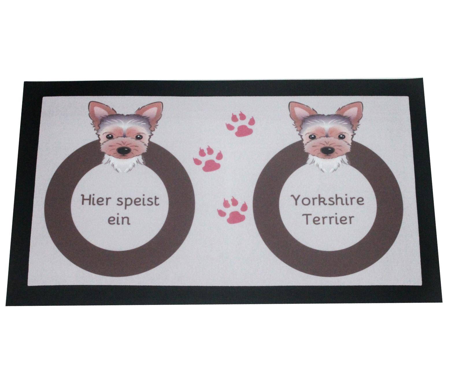 Napfunterlage Yorkshire Terrier Hund