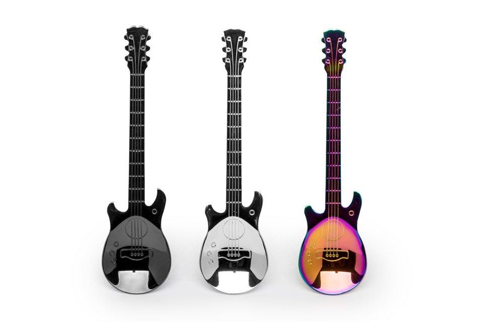 Teelöffel Set Gitarre 01