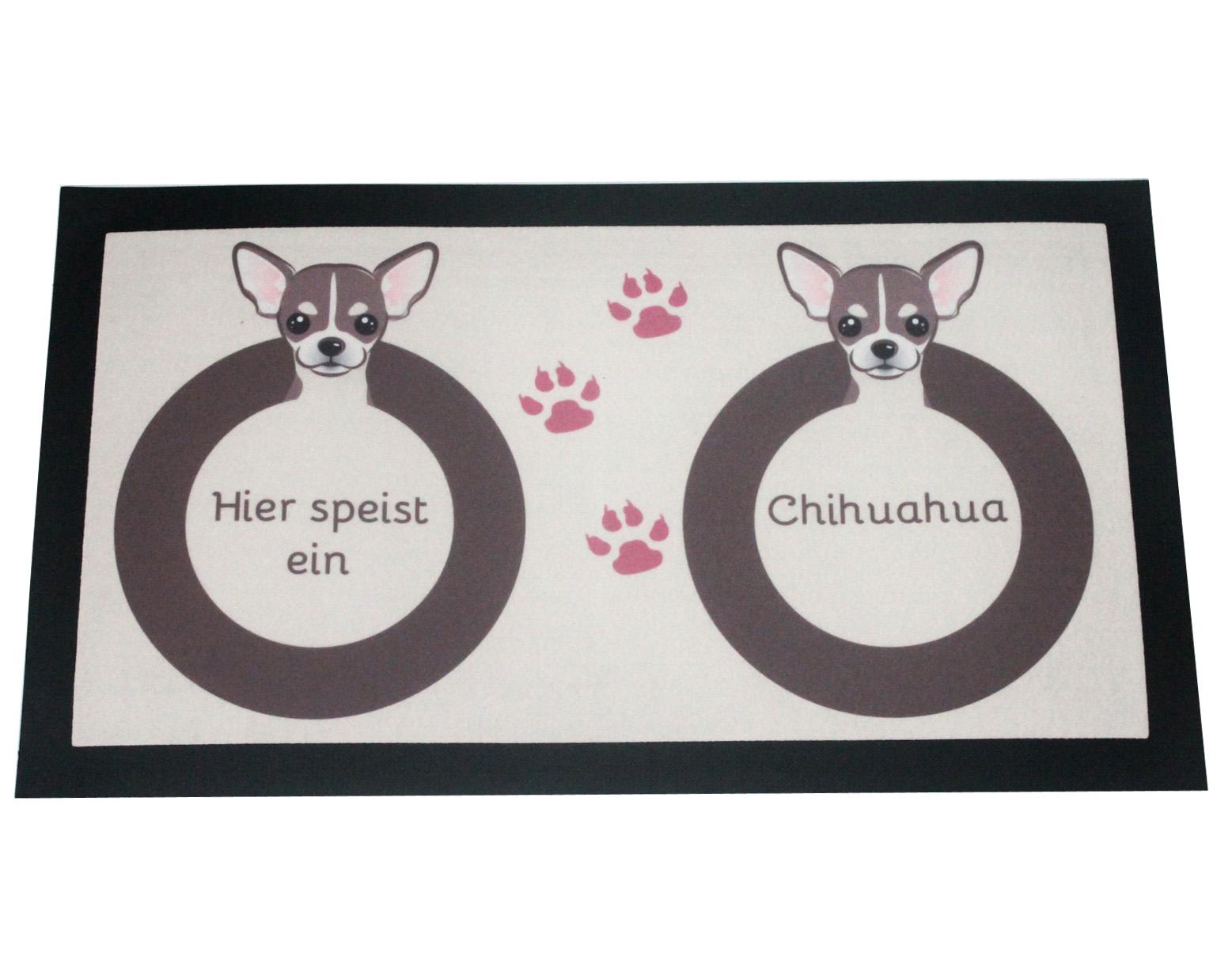 Napfunterlage Chihuahua Hund