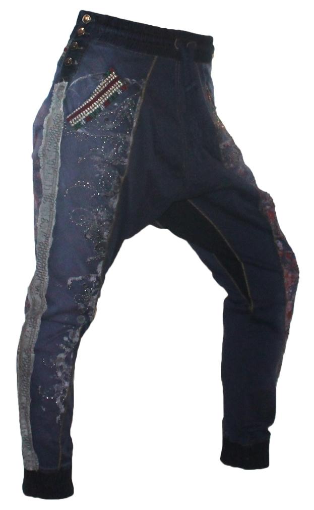 Signet Damen Haremshose 3211 indigo Pumphose Jeans 04