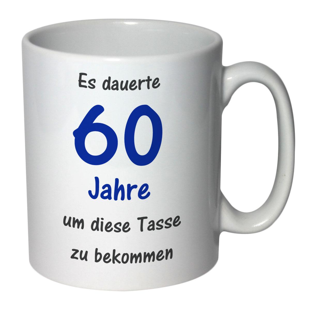 tasse geburtstag 60 jahre