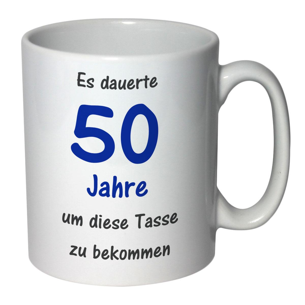 tasse geburtstag 50 jahre