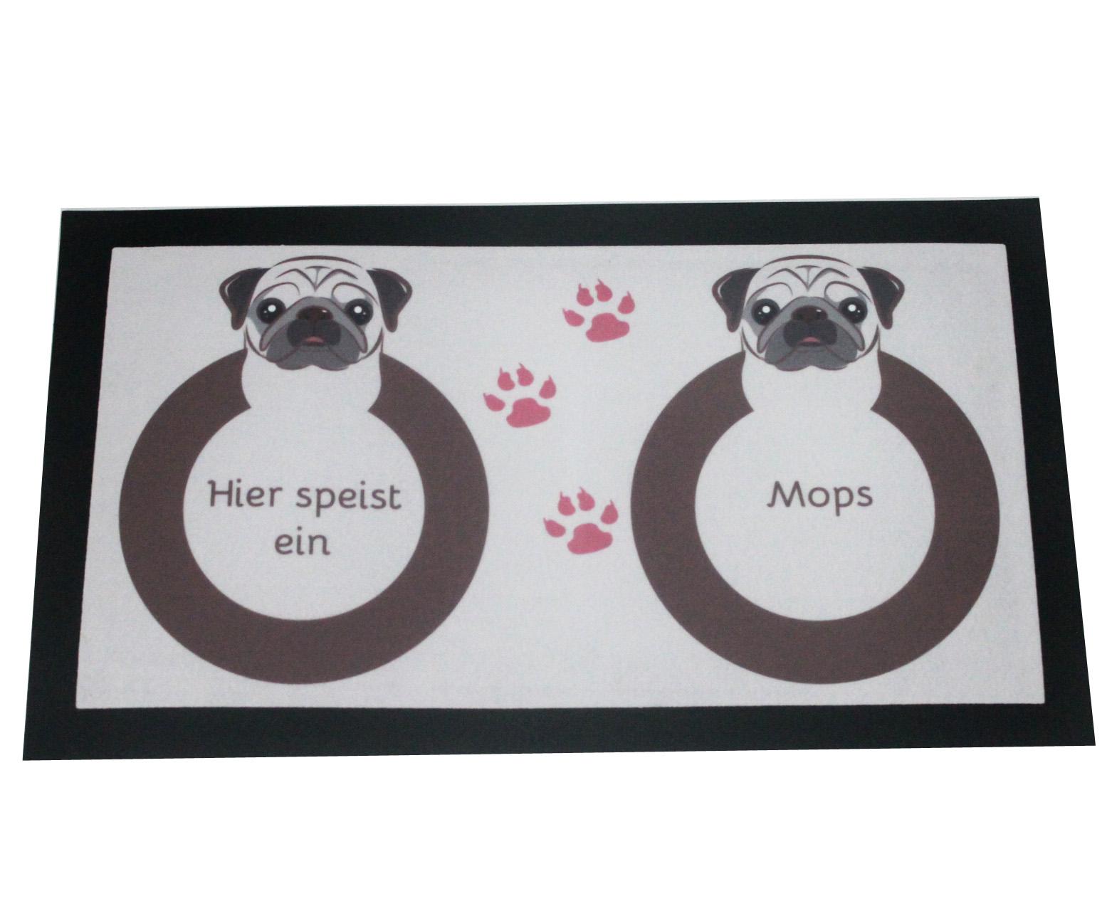 Napfunterlage Mops Hund