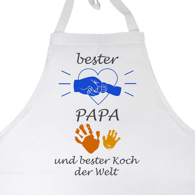 Kochschürze bester Papa und Koch der Welt Motiv