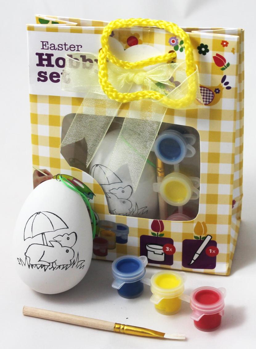 Oster Hobby-Set Ei zum malen Motiv Hasen