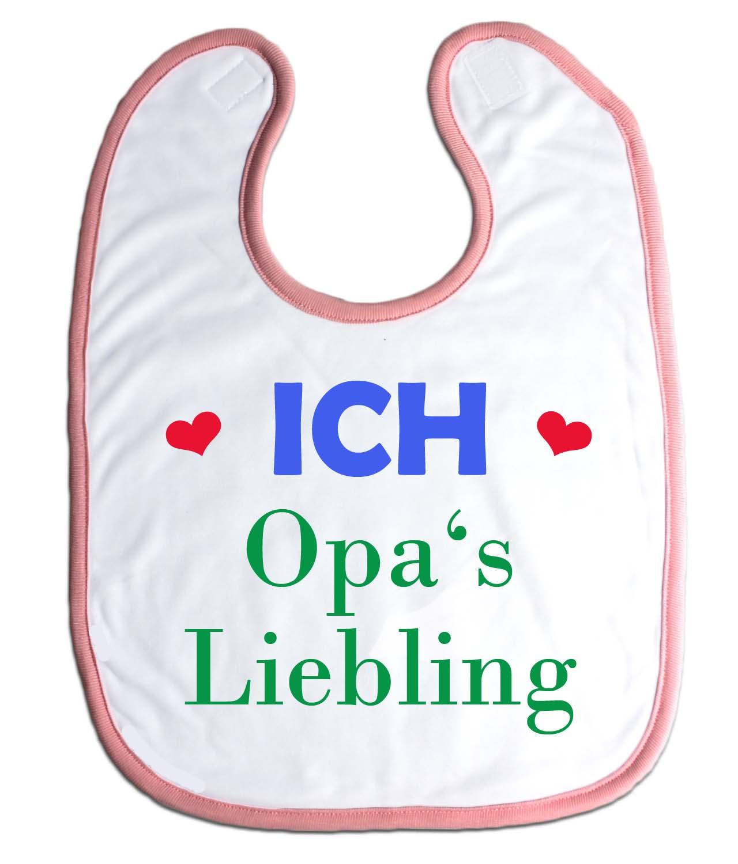 Lätzchen Opas Liebling für Babys Jungs Mädchen