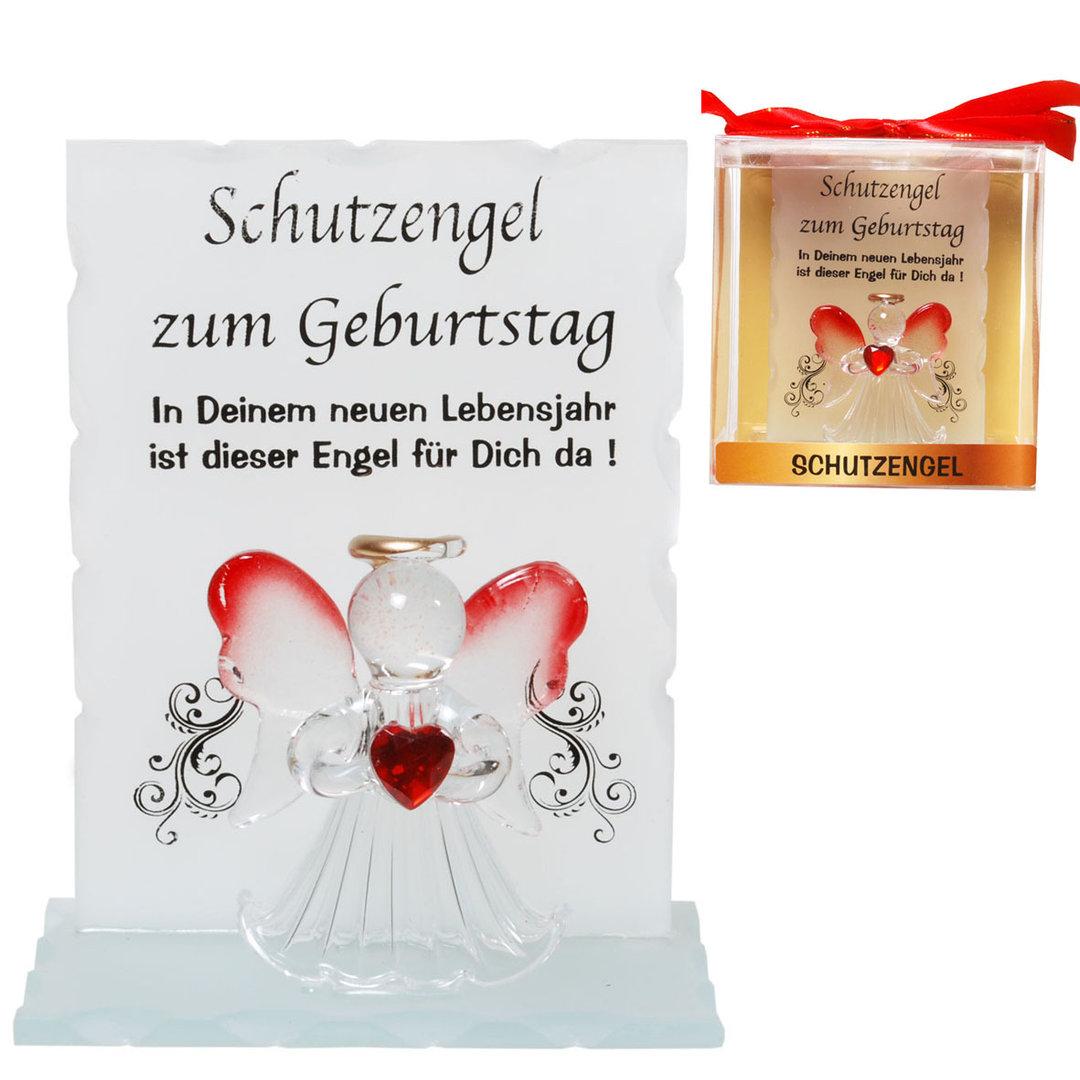 Kristall-Schutzengel Zum Geburtstag Geschenk von Herzen