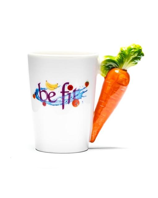 Veggie Tasse Kaffeetasse Karotte 01