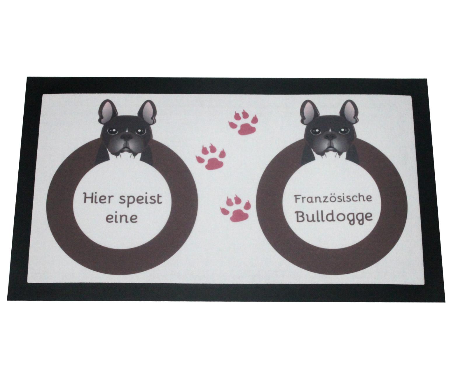 Napfunterlage Französische Bulldogge Hund