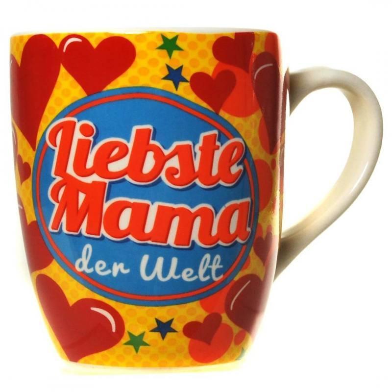 Fun-Becher Liebste Mama Kaffeebecher Geschenk Mama