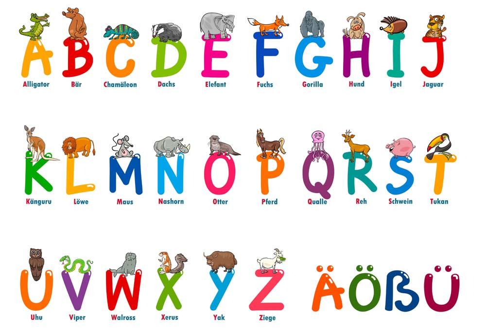 Kinder Spardose mit Name Tier Buchstaben Alphabet