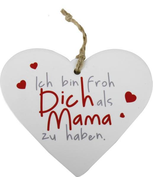 Herz Dich als Mama Geschenk für Mama und Muttertag