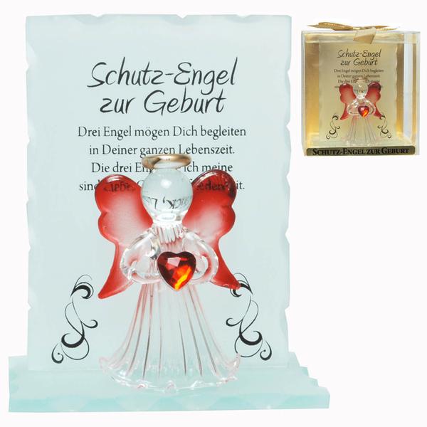 Kristall-Engel Zur Geburt Geschenk zur Geburt und Taufe