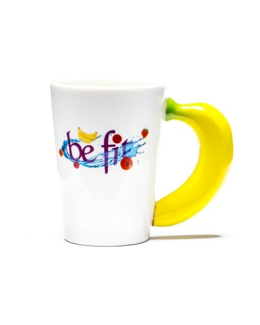 Veggie Tasse Banane Kaffeebecher 01