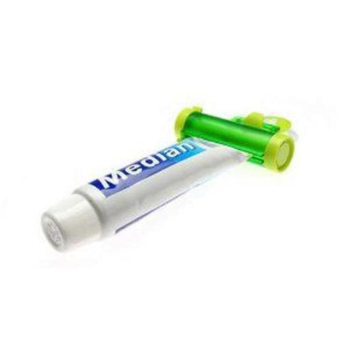 praktischer Tubenquetscher mit Saugnapf für Zahnpasta Halter