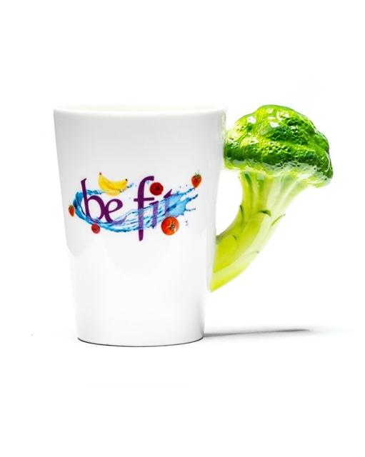 Veggie Tasse Brokkoli Kaffeetasse 01