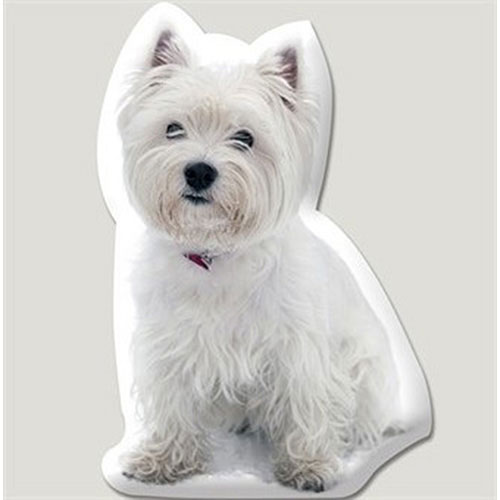 West Highland Kissen 58 cm Wessi Kissen für Hundeliebhaber