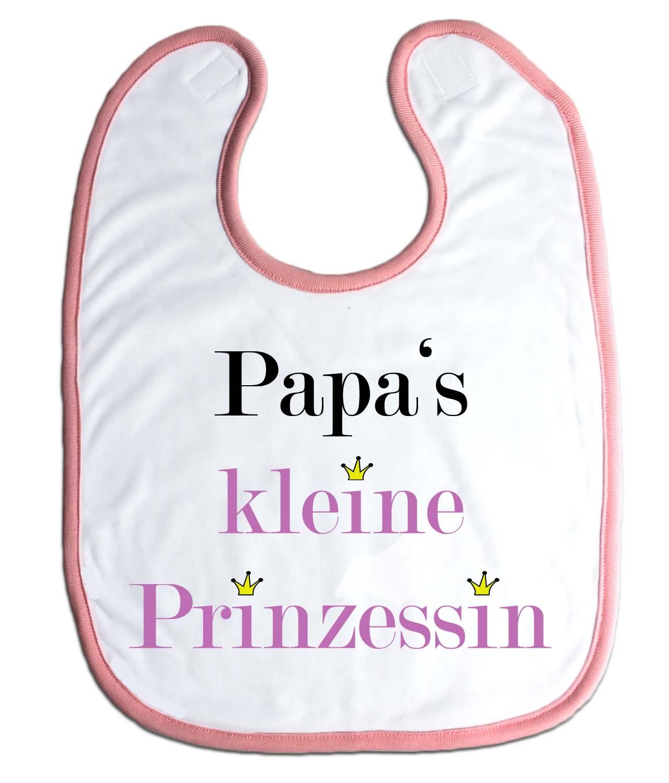 Lätzchen Papas kleine Prinzessin für Babys