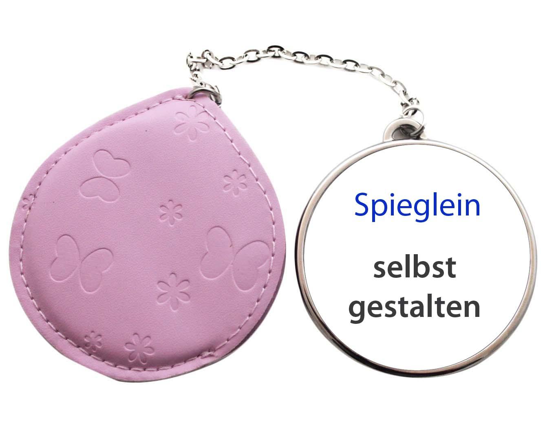 spiegel rosa mit etui selbst gestalten 01