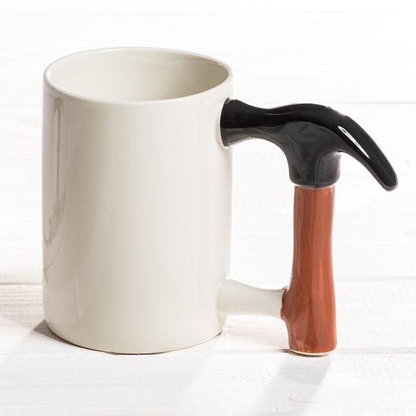großer Porzellan Hammer Becher für Handwerker Kaffeebecher